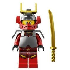 Samurai X with Gold Sword - LEGO Ninjago Minifigure Ninjago Party, Lego Ninjago, Lego Minifigure, Lego Candy, Lego Activities, Lego Marvel's Avengers, All Lego, Lego Worlds, Lego Movie