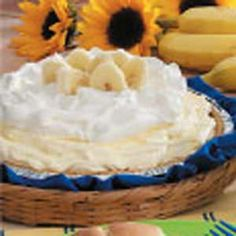 Banana Cream Pie - We like this one at our house.