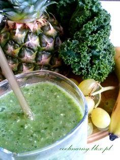 Zielone smoothie z jarmużem