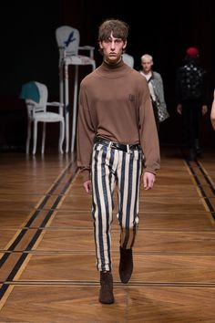The complete Enfants Riches Déprimés Fall 2018 Menswear fashion show now on Vogue Runway.