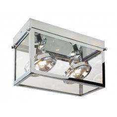 KASPA LAMPA SUFITOWA GEO incl. 2xG53 QR111 70175203