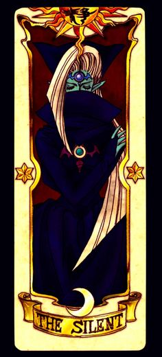 Clow Card Silent by Red-Ladix.deviantart.com on @DeviantArt