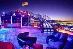 Some of the best places for your bachelor party in Las Vegas are hundreds of feet above the Strip. Check out the five best rooftop bars in Vegas. Las Vegas Strip, Las Vegas Bars, Las Vegas Vacation, Las Vegas Nevada, Best Bars In Vegas, Vacation Ideas, Vacation Spots, Las Vegas Music, Las Vegas Hotels