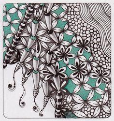 Прикосновение к Миру Творчества...: Zentangle.