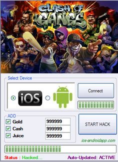 clash of gangs hack tool