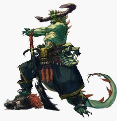 Changeling the lost ogre 2 Concept Draw, Fantasy Concept Art, Character Concept, Character Art, Fantasy Creatures, Magical Creatures, Ronin Samurai, Beast Creature, Fantasy Races