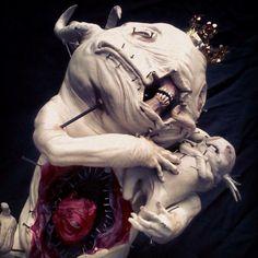 Surrealistic Horror by Emil Melmoth Arte Horror, Horror Art, Creature Feature, Creature Design, Dark Fantasy, Fantasy Art, Character Art, Character Design, Horror Monsters