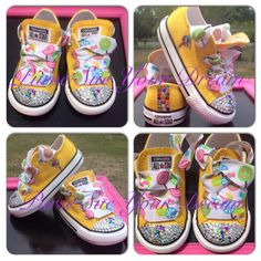 Candyland/Candy Shoppe Converse - Candyland Birthday - Infant/Toddler/Adults  - Candy