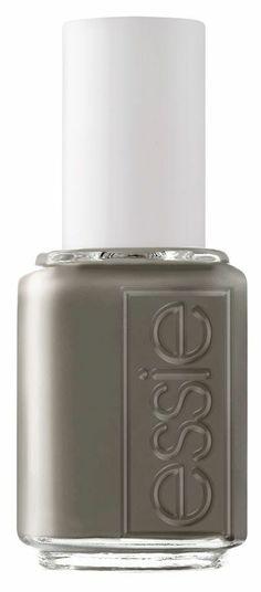 Grey mate nail polish for cloudy days