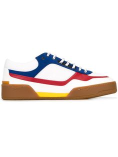 Shop Stella McCartney colour block sneakers.