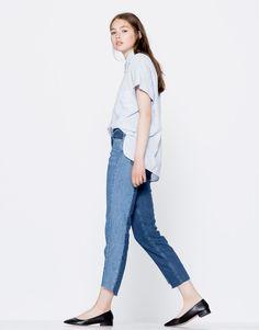 Jean slim fit bicolore - Jeans - Vêtements - Femme - PULL&BEAR France