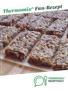 Müsliriegel von Elwe13. Ein Thermomix ® Rezept aus der Kategorie Brot & Brötchen auf www.rezeptwelt.de, der Thermomix ® Community.