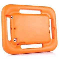 For+iPad+Mini+1/2/3+Orange+EVA+Steering+Wheel+Style+Handle+Protective+Case