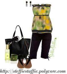 """""""Black Citrus"""" by steffiestaffie ❤ liked on Polyvore"""