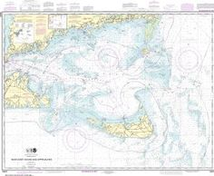 10 Best Nantucket Charts images in 2017 | Nautical chart