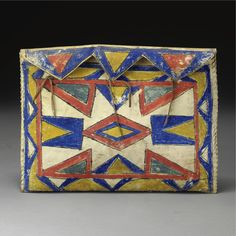 A Sioux Painted Parfleche Envelope | lot | Sotheby's