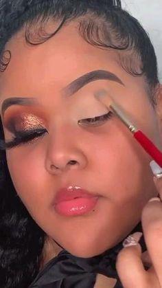 Beauty Makeup Tips, Beauty Make Up, Eye Makeup, Hair Makeup, Makeup Spray, Eyebrow Tutorial, Makeup Videos, Makeup Collection, Septum Ring