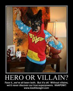 Hero or Villain?