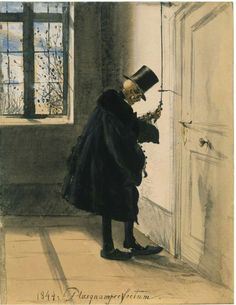 Uninvited Guest [Adolf Menzel, 1844]