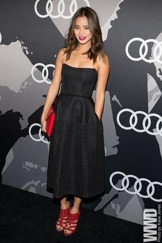 Jamie Chung at the Audi Golden Globes Party