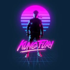 Kung Fury screenshot (this film is apparently extremely 80s retro-futurism/video-game themed and is also free, should watch at some point)