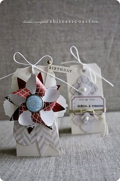 #papercraft #tags from Keisha Campbell
