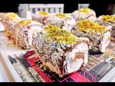 Τα Ρολάκια της Χανούμισσας! Ανατολίτικο γλυκό αέρινο σαν σύννεφο γρήγορο... Cookbook Recipes, Cooking Recipes, Sushi, Food And Drink, Sweets, Cheese, Ethnic Recipes, Youtube, Gummi Candy