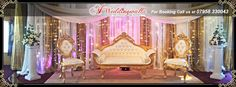 Wedding Stages A1 Weddingwalla is one of leading Asian Wedding Stage Decoration service provider in UK. For booking call us at 07958 330043 or visit www.a1ww.co.uk #wedding #royalwedding #weddingreception #asianwedding #weddingfashion #weddingplanning #weddingdecoration #weddingideas #weddingdecor #weddingstages #weddingideas2015 #marriage #WeddingCeremony #stagedecoration