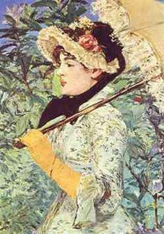 Edouard Manet - Printemps 1881
