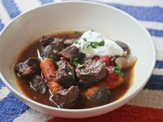 Spanish Beef Stew With Pimentón and Piquillo Peppers Recipe | Serious Eats