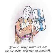 A long time ago in a Christmas far far away Cards and posters available on @society6 http://ift.tt/1Q4gz9K #sketches #sketch #forceawakens #doodle #illustration #illustrations #art #sketch_daily #kenobi #artwork #obi-wan #artist_features #santa #christmas #colour #sketching #drawing #starwars #fanart #lol #funny #potd #haha #pun #obiwan by cameronkimjones