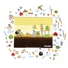 Angry Birds - Magnetic Playset - Magnets - Accessories