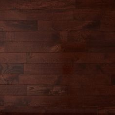 Prefinished Solid Traditional Dark Red Oak In Cherry What A Beautiful Color For Your Home
