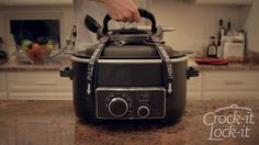 Ever tried to transport a crock pot? It's always a disaster! But Crock-it Lock-it has come up with a solution