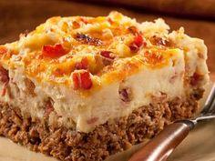 Main Dish Recipes: Cowboy Meatloaf and Potato Casserole