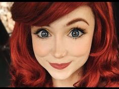 Ariel from The Little Mermaid Makeup Tutorial | Costume Makeup - YouTube
