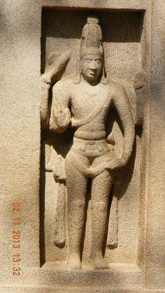 sculpture at Pancha Rathas