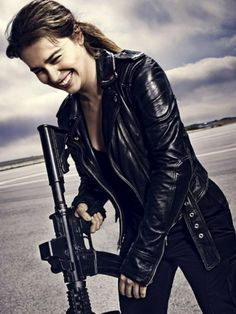 1000 images about terminator sarah connor on pinterest - Sarah connor genisys actress ...