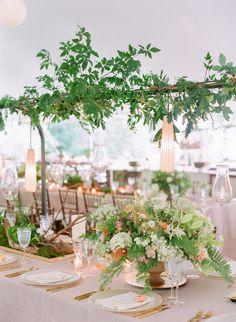 Historic Estate Wedding With Secret Garden Style