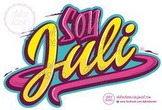 Re-diseño del logo de Soy Luna por Dulce Diseño... consulte por otros nombres!!! Dulcedisenio@gmail.com
