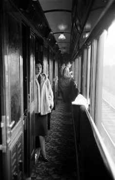 Aboard the Simplon-Orient Express, 1950