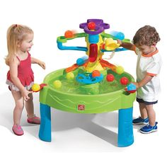 Busy Ball Play Table Water play at its best! The new Busy Ball Play Table features an engaging design that will kee Kids Water Table, Kids Play Table, Little Tikes Water Table, Sand Table, Sand And Water, Water Play, Water Toys, Outdoor Toys, Outdoor Fun
