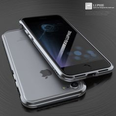 Just landed: Luphie Sword Bump... Take a look: http://www.gadgetwear.co.uk/products/luphie-sword-bumper-case-for-apple-iphone-7-grey-silver?utm_campaign=social_autopilot&utm_source=pin&utm_medium=pin