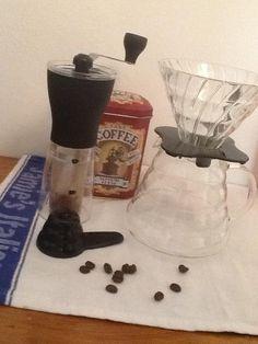 Frisch gemahlen und aufgebrüht - bester Kaffee am morgen.