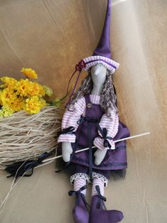 Friendly Tilda Witch