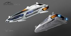 Orca or Dolphin Passenger Cruiser with a choice of Luxury, Execative, Business & Standard Passenger Modules. Spaceship Art, Spaceship Design, Elite Dangerous Ships, Vaisseau Star Trek, Sci Fi Wallpaper, Alien Ship, Space Fighter, Starship Concept, Sci Fi Spaceships