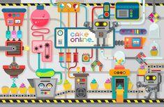 기계사회 일러스트 - Google 검색