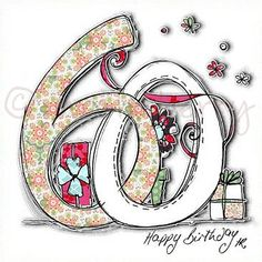 Afbeeldingsresultaat voor 60 birthday