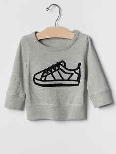 Graphic pullover sweatshirt