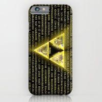 Zelda Triforce Art Logo iPhone 6 Slim Case
